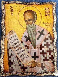 Εικόνες-Αγίων-Βυζαντινές-αγιογραφίες-ορθόδοξες-εικόνες-χειροποίητες-εκκλησιαστικά είδη: Άγιος Αλέξανδρος