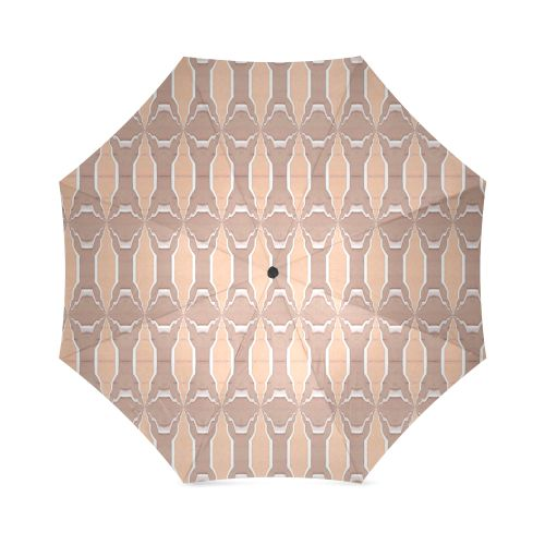 Beige spring  umbrella by Annabellerockz Custom  Auto Foldable Umbrella 01