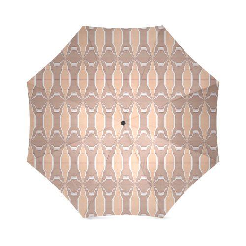 Beige spring  umbrella by Annabellerockz Custom  Auto Foldable Umbrella 01