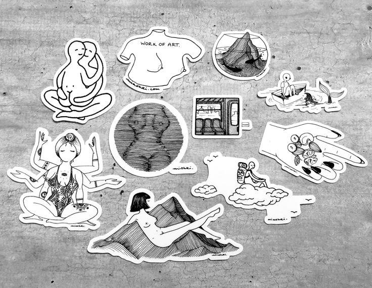 Mia Ohki Illustrations Take-Out