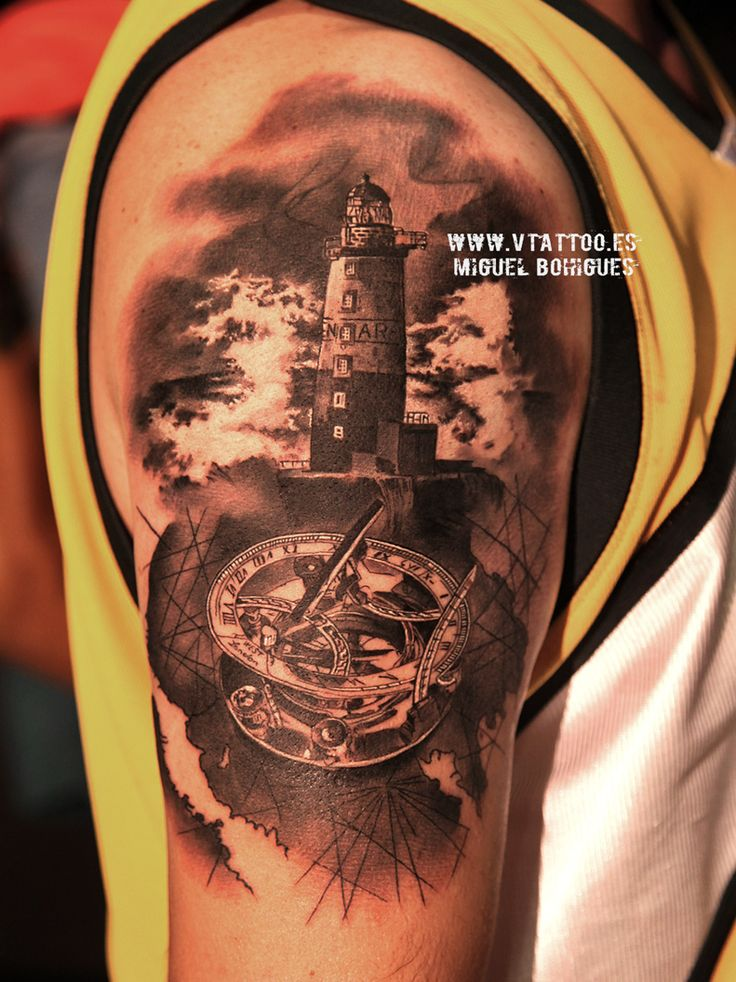 lighthouse compass copia