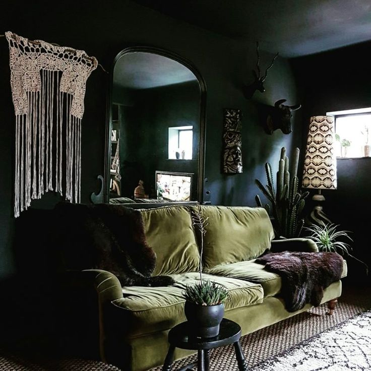 25 best ideas about velour sofa on pinterest gold sofa Room with black walls