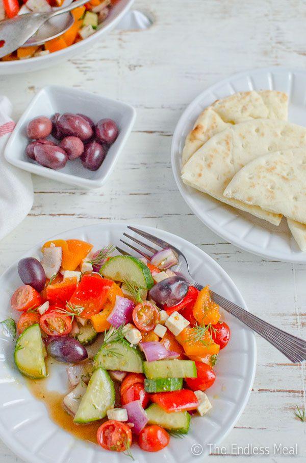The Best Greek Salad Recipe