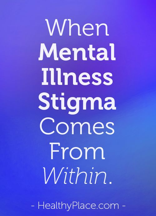 A look at the negative stigma of mental health