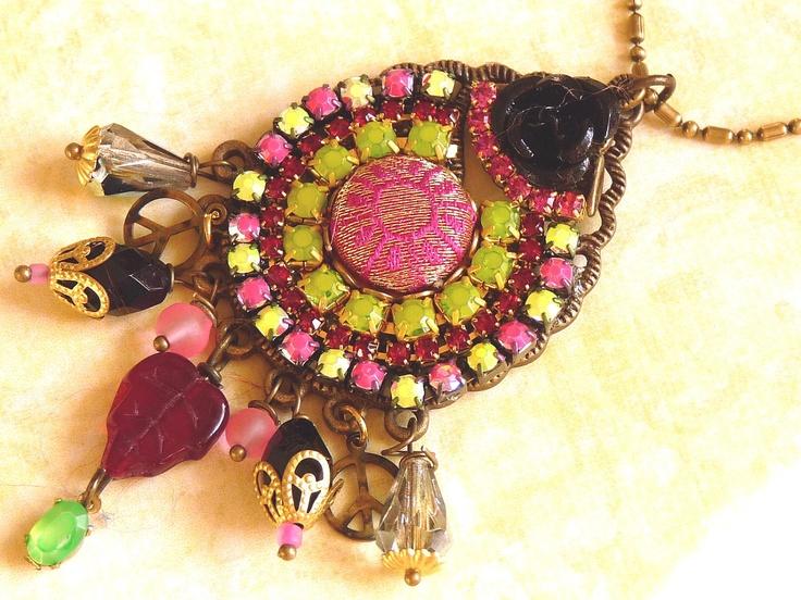 neon India earrings.