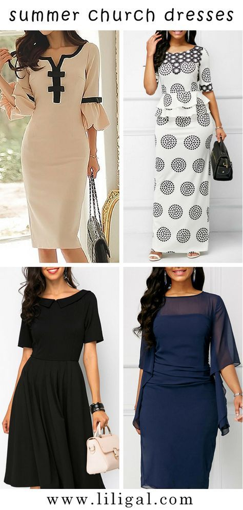 840885b4b0f Ideas for what to wear to church on Sunday. Great selections of church  dresses