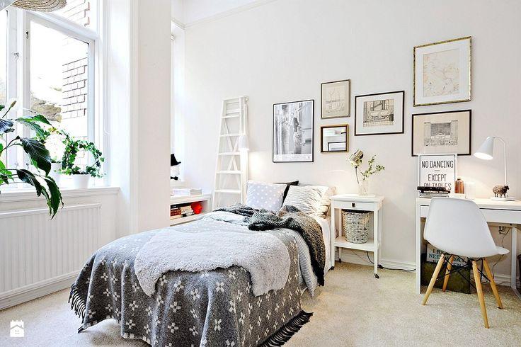 Sypialnia styl Skandynawski - zdjęcie od Casa Bianca - Sypialnia - Styl Skandynawski - Casa Bianca