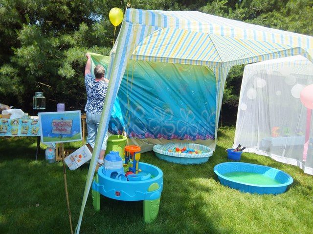 Birthday SpongeBob Water Fun Party