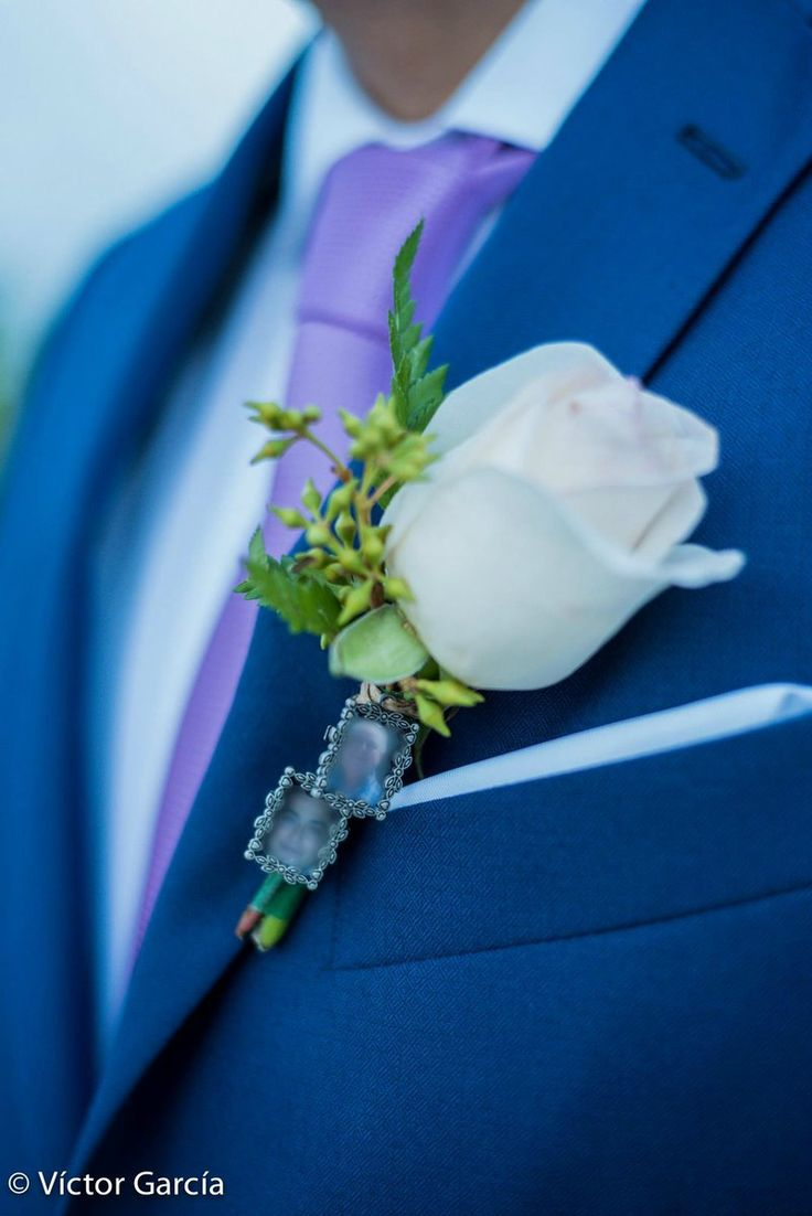 Every detail tells a story, your story....  #boutonniere by #lovememories #details #groom