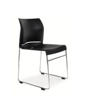 The Envy chair is a generous sized robust stacker chair, both linkable and stackable #seated #stack #meeting #conference  seated.com.au