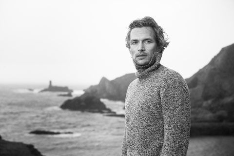 Knitwear inspired by the Irish Coast Fisherman Out of Ireland
