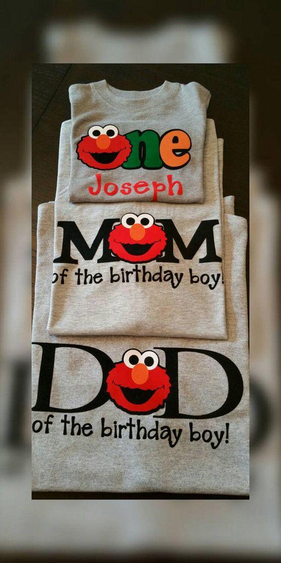 Ultimate custom Tshirt Birthday package for Mom, Dad and Birthday Boy or Girl!