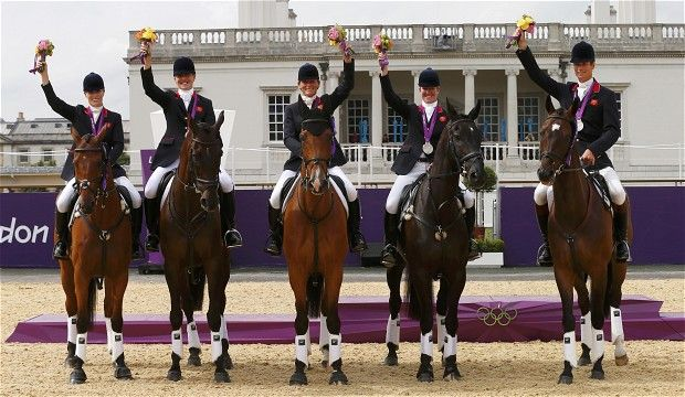 The Great Britain eventing team. I always loved their show jackets