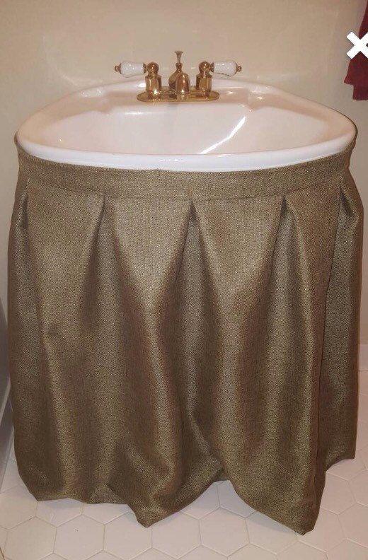 17 melhores ideias sobre bathroom sink skirt no pinterest