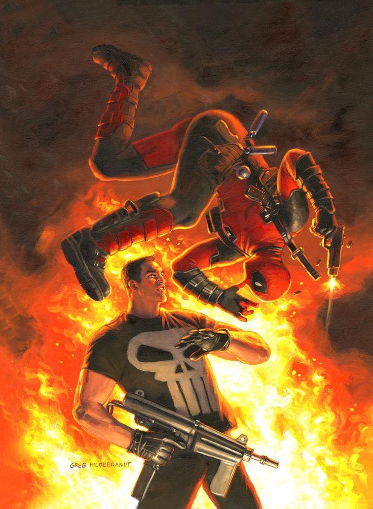 Deadpool vs. The Punisher #1 (Hildebrant Cover) | Fresh Comics