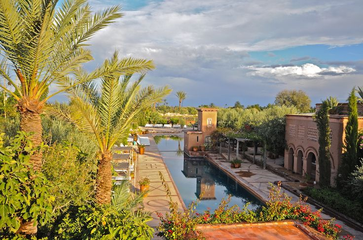 Marrakech - Beldi Country Club - Outside Swimming Pool