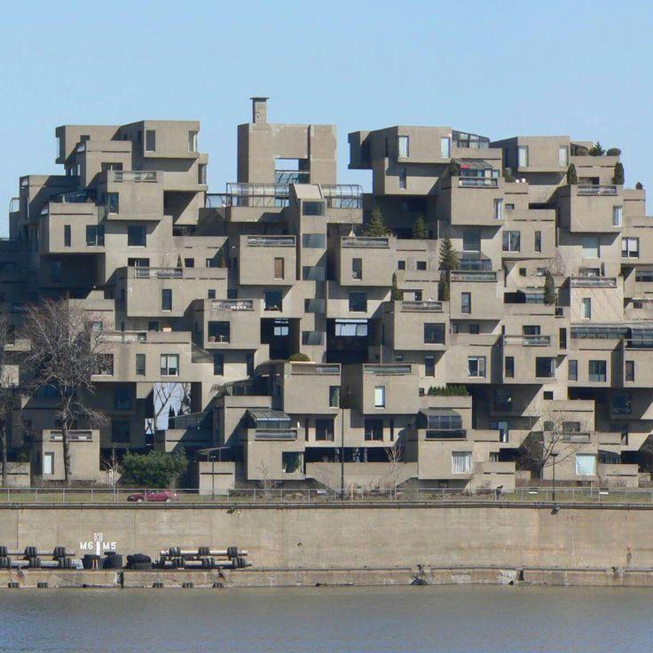 Moshe Safdie, Habitat '67, Montreal, 1967