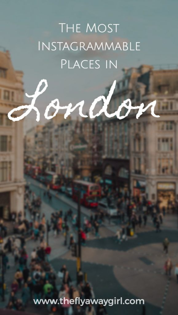 Looking for the most instagrammable places in London? Look no further! From cute cafes to floral facades, find out the top spots here. #London