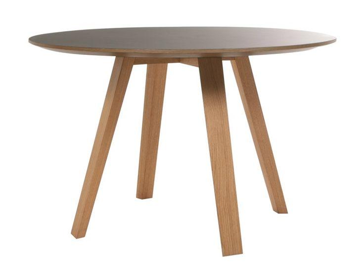 Tavolo rotondo in legno massello MAVERICH Collezione Maverich by KFF | design Birgit Hoffmann
