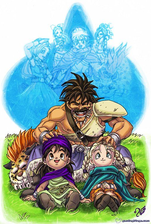 Dragon Quest V - HotHB by =Meibatsu on deviantART