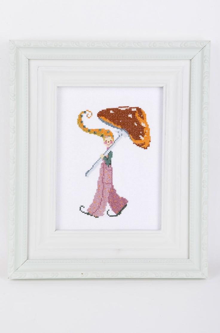 mushroom boy by Kyriaki Sidiropoulou