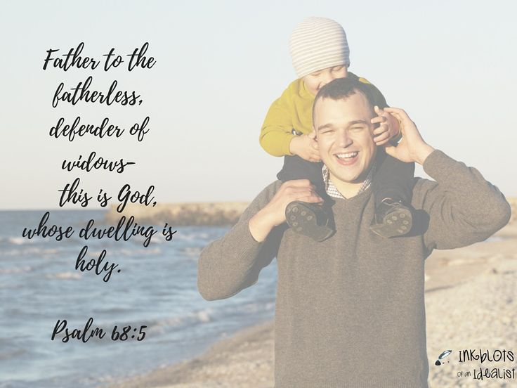 Father to the fatherless, defender of widows— this is God, whose dwelling is holy.