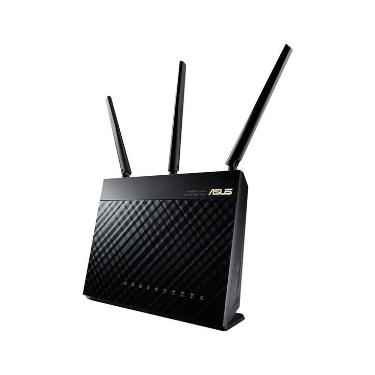 Amazon.com: ASUS (RT-AC68U) Wireless-AC1900 Dual-Band Gigabit Router: Computers & Accessories