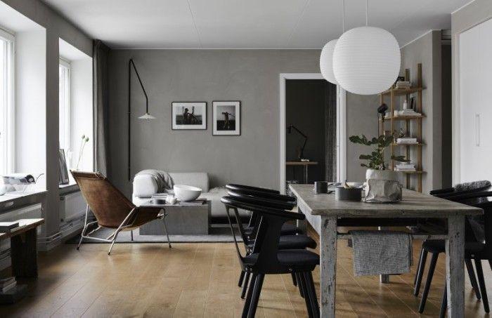 När man inreder ett rum från grunden är det bra att blanda modern design med möbler som har använts och älskats lite längre. En lagom sliten klassiker förhöjer känslan i rummet.