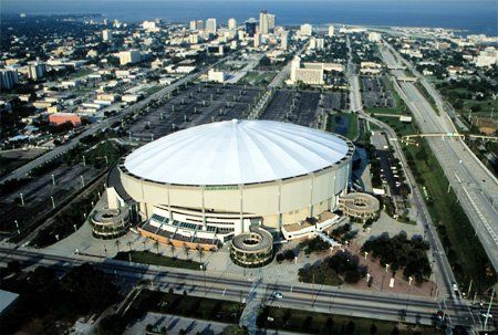 Tropicana Field,St. Petersburg, Florida - Home of the Tampa Bay Rays