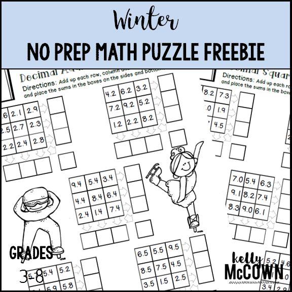 81 best Winter Math images on Pinterest | Preschool winter, Teaching ...