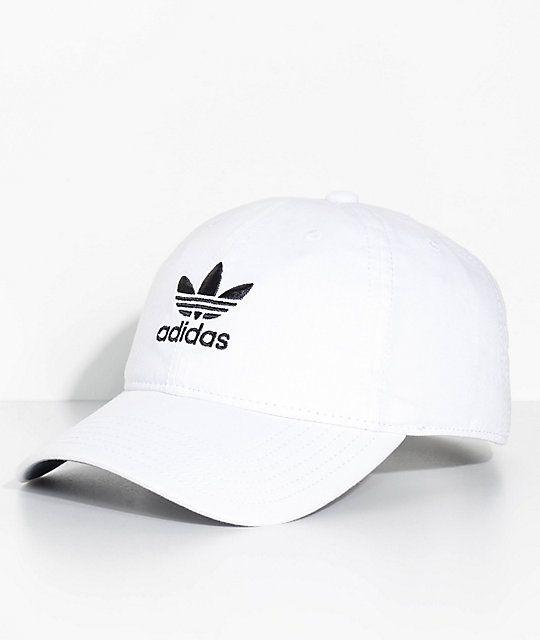 $23 adidas White Strapback Hat