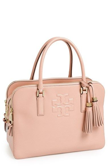 Tory Burch Thea Patent Leather Triple Zip Satchel At Nordstrom This Refined Cut From Rous Pebbled Will Carr