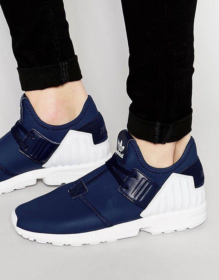 adidas ZX Flux Plus Sneakers S79061   Sneakers, Adidas zx flux ...