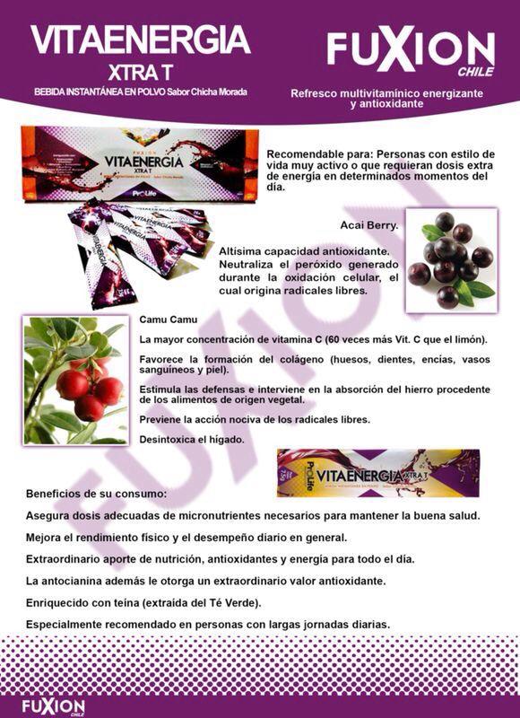 FuXion Más info: www.bebidasfuxion.es / info@bebidasfuxion.es