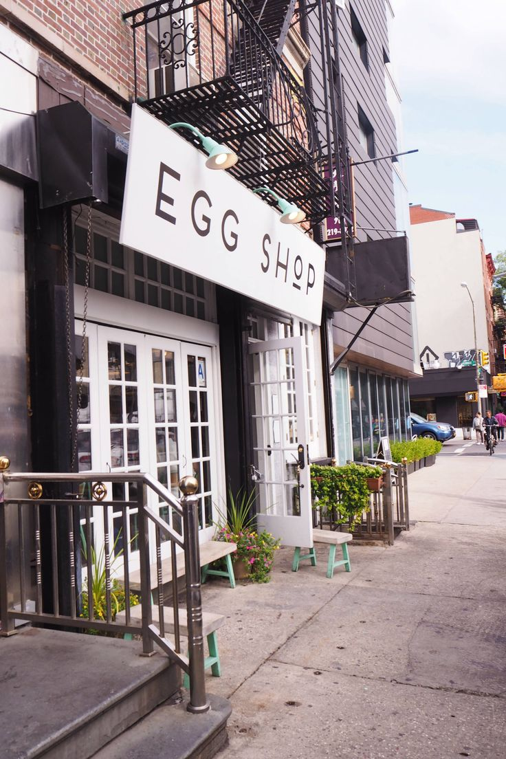 THE EGG SHOP NYC