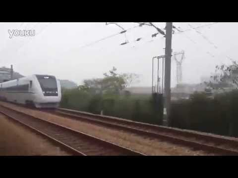 INDIA'S FIRST BULLET TRAIN SPOTTED!!! Test Run