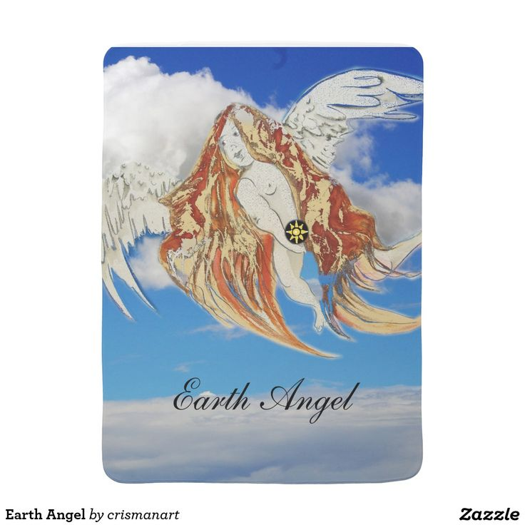 Earth Angel Baby Blankets