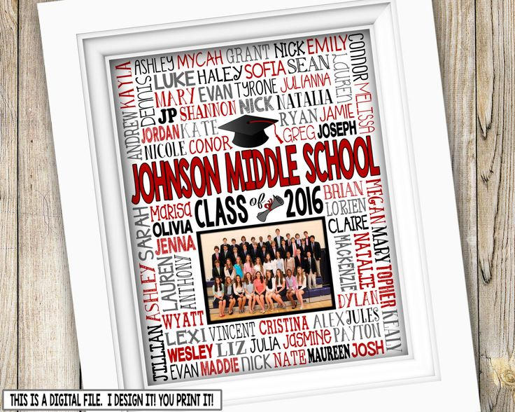 Junior Classroom Ideas : Th grade graduation gift class picture printable