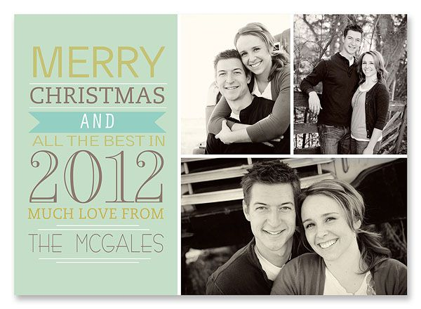 25 Free Christmas Card Printables