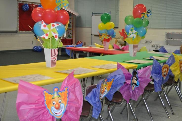 Circus Theme Kindergarten Graduation