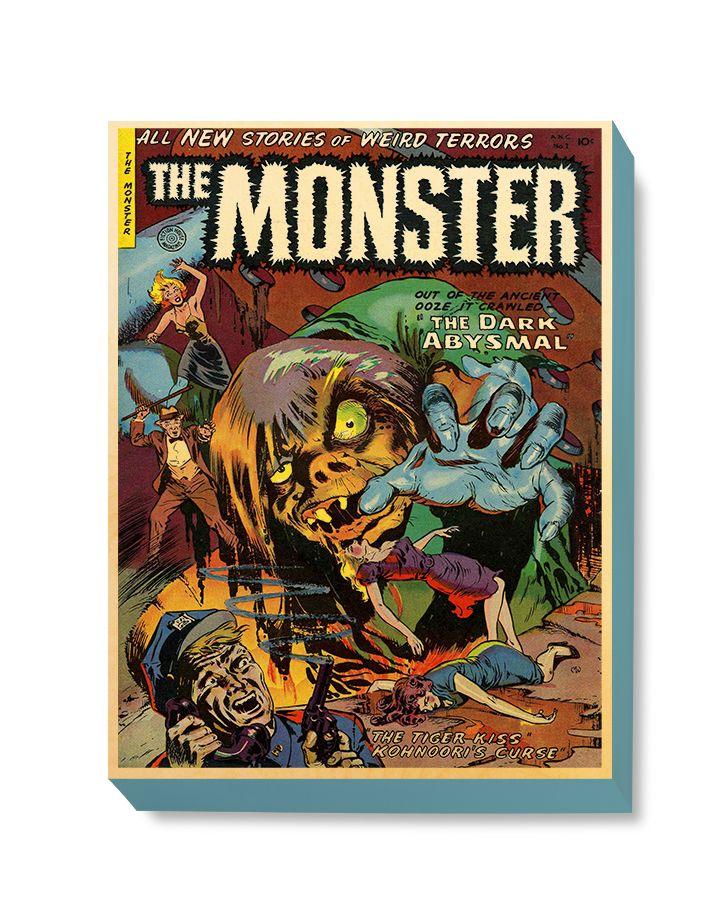 HOR 027 Horror Comic Cover - The Monster