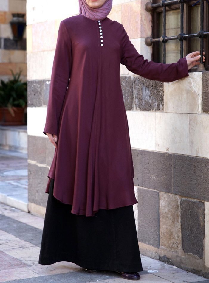 Fun Flared Tunic from www.shukrclothing.com