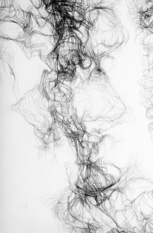 "Saatchi Art Artist: Paola Ricci; Graphite Drawing ""I intra-vision particular"""