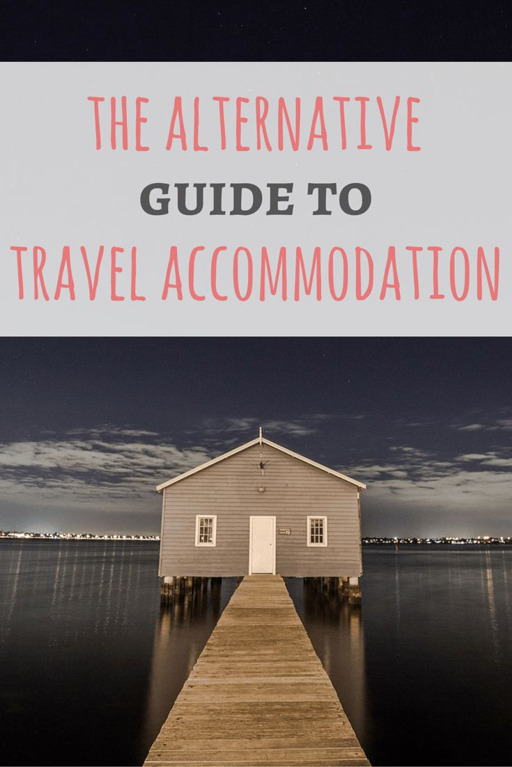 The Alternative Guide to Travel Accommodation - Passport & Plates