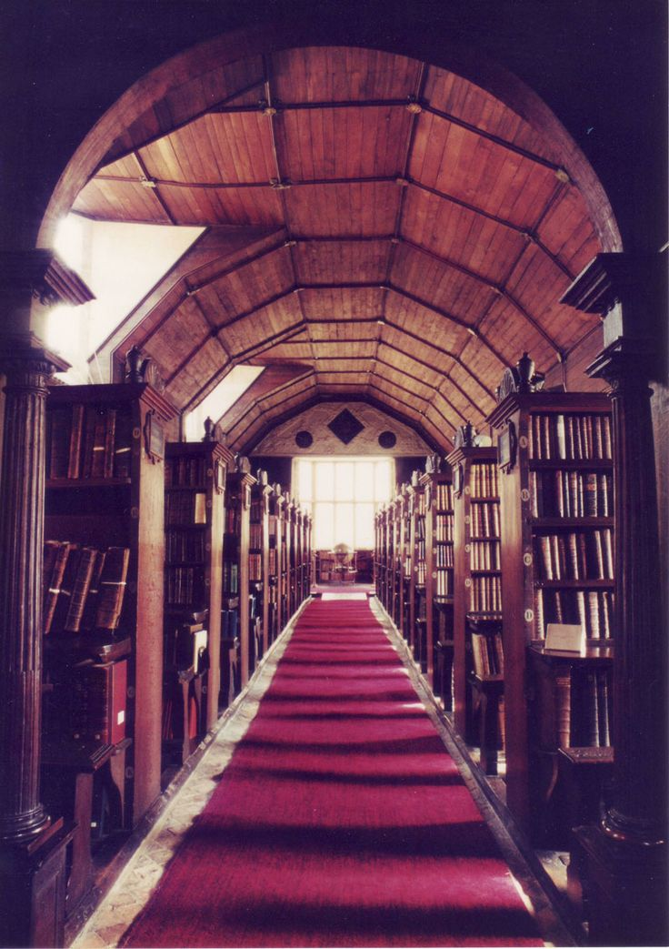 Merton College Old Library, Oxford