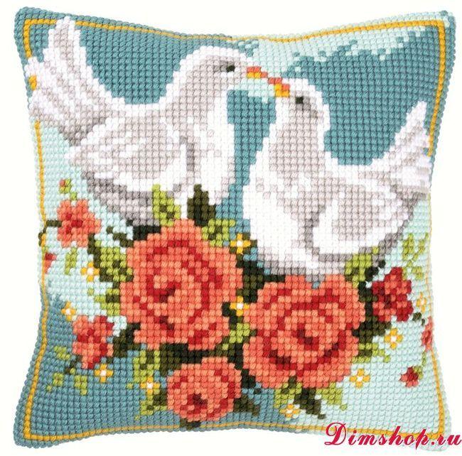 Набор для вышивания Vervaco PN-0009145 Цветочный орнамент