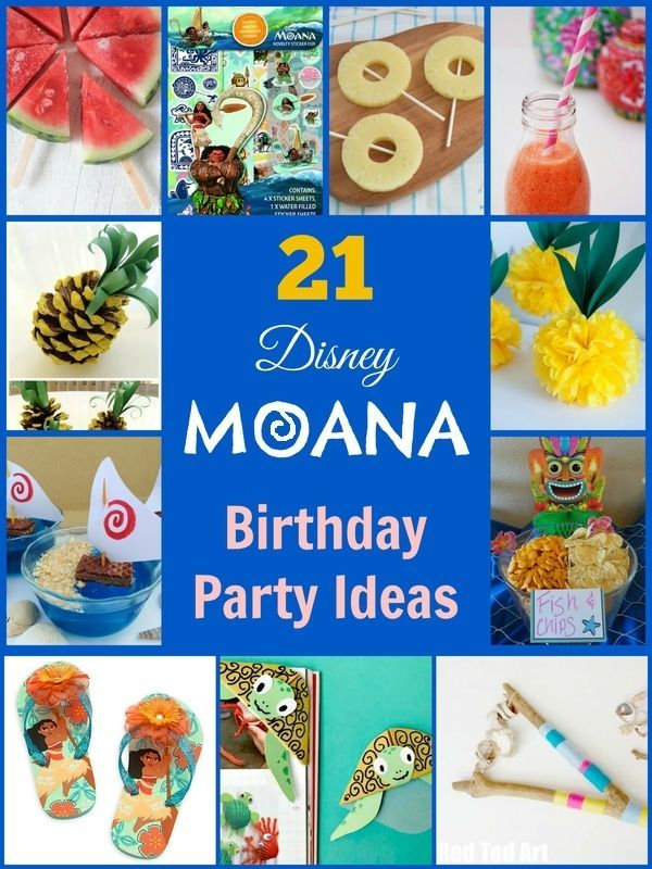21 party ideas for a Disney Moana Birthday Party. Party crafts, games, gifts and food. You can't beat a Disney film. They are universally loved by children and adults and the latest film Moana is no exception. When crops fail and fishermen can't catch any fish, Chieftain's daughter and adventurous teen Moana must set out on a dangerous journey to save her people.