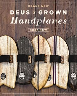 Deus x Grown Handplanes