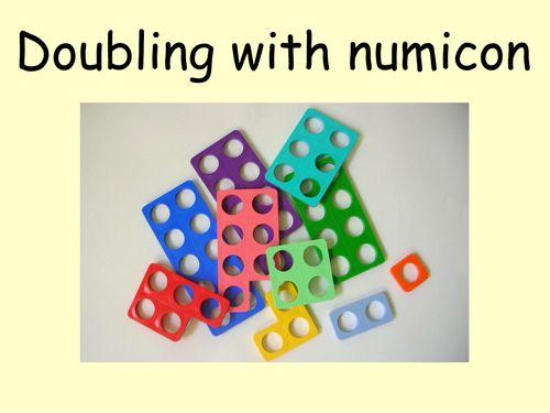 Doubling using <em>numicon</em>-powerpoint