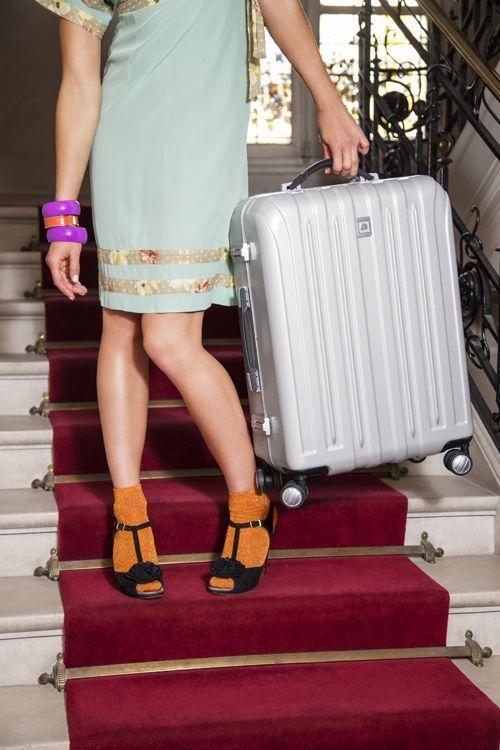 Koffer packen und los! Wer eine unbeschwerte Reise antreten will, sollte sich mit den Koffern der Serie »Vavin Sécurité« ausrüsten. Die Trolleys sind mit gleich 2 TSA-Kombinationsschlössern ausgestattet.